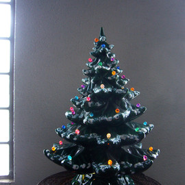 """ Ceramic Christmas Tree """