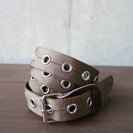 NECESSARY or UNNECESSARY - BELT NYLON (brown)