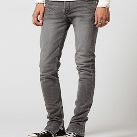 VAPORIZE - VAPORIZE / Zip new skinny denim
