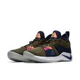 "nike - NIKE PG 2 ""A.C.G."" OLIVE CANVAS/OBSIDIAN-LIGHT SILVER"