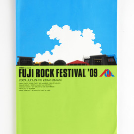 FUJI ROCK FESTIVAL '09 Official Pamphlet