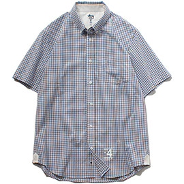 STUSSY DELUXE - Mens Check S/SL Shirt