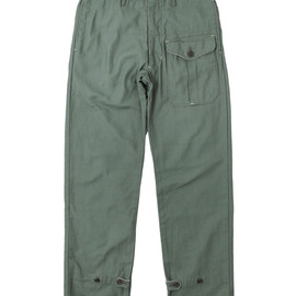 Engineered Garments - Ghurka Pant Olive Reversed Sateen