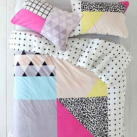 urban outfitters - Assembly Home Pattern Block Duvet Cover