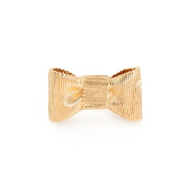 kate spade NEW YORK - all wrapped up large bow ring