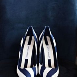 Manolo Blahnik - Striped .