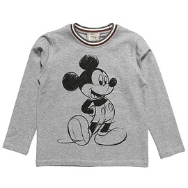 MONNALISA NY&LON - Boys Cotton Jersey 'Mickey Mouse' Top