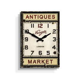 Newgate Clocks - Antiques Market Wall Clock