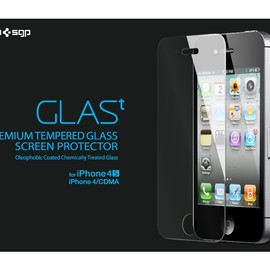 SPG - iPhone 4 / 4S Screen Protector GLAS.t Premium Tempered Glass Series