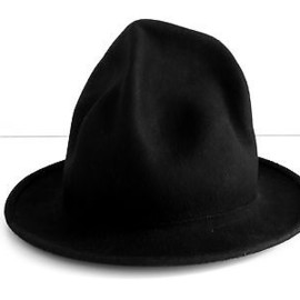 World's End - black felt mountain hat