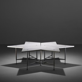GIO PONTI - important set of coffee tables from Casa Civate