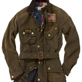Barbour - Steve Mcqueen Rexton Waxed Jacket - Olive