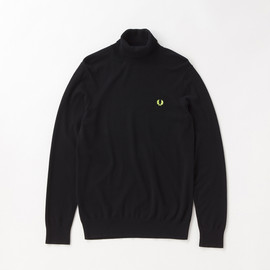 Fred Perry - Soho Neon - Roll Neck Sweater