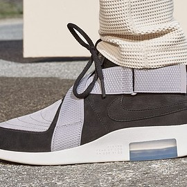 NIKE, Fear of God - Air Fear of God Raid - Black/Grey/White