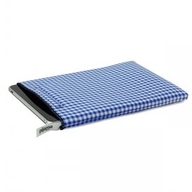 Pijama - iPad case blue check