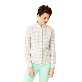 KATE SPADE SATURDAY - Perfect Day Shirt in Windowpane