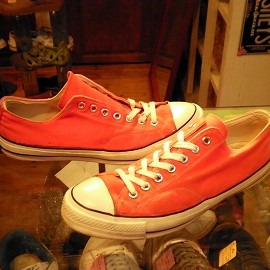 "converse - 「<used>70's converse CHUCK TAYLOR OX orange""made in USA"" size:US10/h 39800yen」販売中"