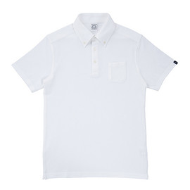 LOOPWHEELER - LW Kanoko Button-down Polo