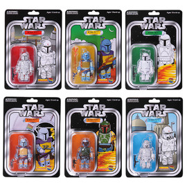 MEDICOM TOY - STAR WARS™ KUBRICK BOBA FETT™ COLLECTION SET OF 6pcs. COLLECTORS EDITION