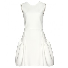 miu miu - STRUCTURED DRESS WITH CUT-OUT BACK