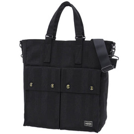 PORTER - PORTER TANGO BLACK 2WAY TOTE BAG
