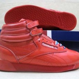 Reebok - Reebok Freestyle High All Red
