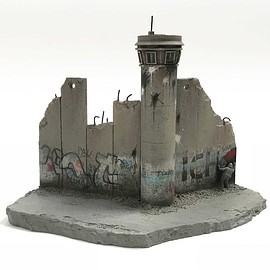 Banksy - The Walled Off Hotel - 'Defeated' Souvenir Wall Section