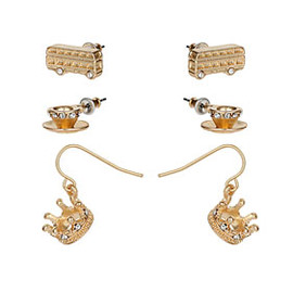 TOPSHOP - Jubilee London Earring Pack
