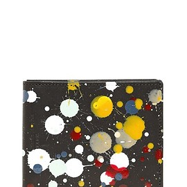 MAISON MARTIN MARGIELA - SPLATTER PAINTED LEATHER WALLET