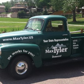 1954 Chevy pickup  Max Tyler