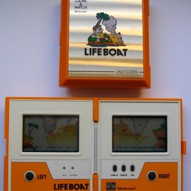 "NINTENDO - GAME & WATCH ""Lifeboat"""