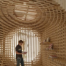 AtelierVecteur - Pavilion for the Festival of Lively Architecture