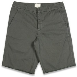 BAND OF OUTSIDERS - Cut-Off Chino OLIVE