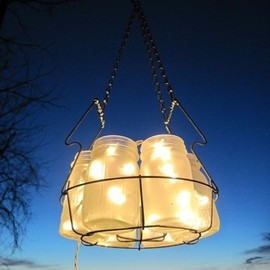 Mason jar - Mason jar lantern for outdoor space. by nadia
