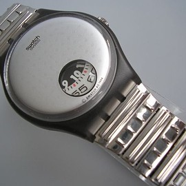 SWATCH - SILVER PLATE GM130