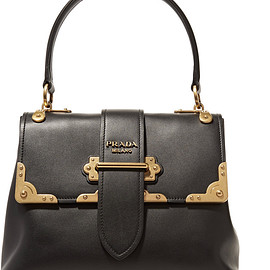 PRADA - FW2016 Cahier large leather tote