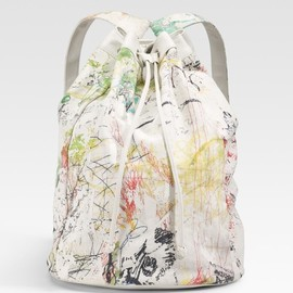 ALEXANDER WANG - Walker Doodleprint Canvas Backpack