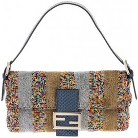 Fendi - beaded shoulder bag