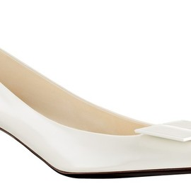 Louis Vuitton - Magic Square pump in glazed calf