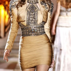 Zuhair Murad - Zuhair Murad SS 2011 sending insane embellished dresses down the runway.