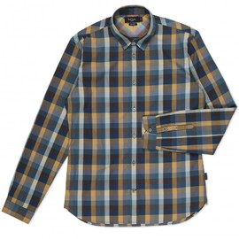 Paul Smith - Petrol Blue Check Shirt