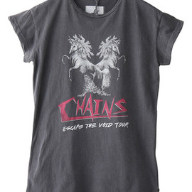 One Teaspoon - CHAINS PIXIE T