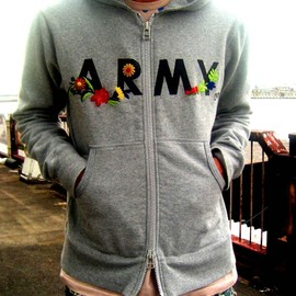 miraco - ARMY of me Full-zip Hoodie