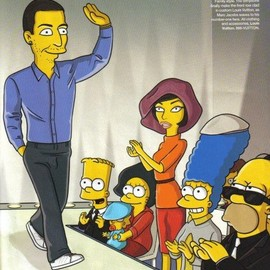 Harper's Bazaar - The Simpsons × Louis Vuitton