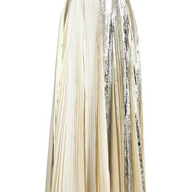 PROENZA SCHOULER - Long Pleated Foil Skirt
