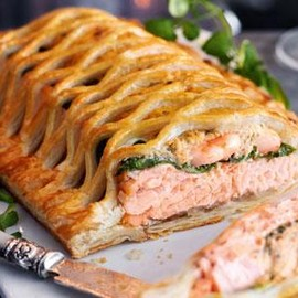 Marks & Spencer - Scottish Lochmuir™ Salmon & Prawn en Croute