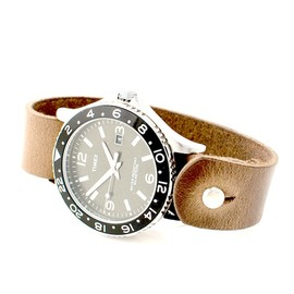 Timex - timex chromexcel watch wrist band CHROMEXCEL LEATHER WATCH BAND | HUCKBERRY DISCOUNT