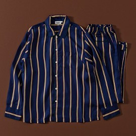 Sleepy Jones - Silk Henry Pajama Shirt