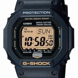 CASIO - G-SHOCK 25th Aniversary 「Dawn Black」 タフソーラー 電波時計 GW-5625AJ-1JF メンズ