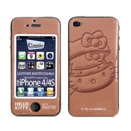 muta (ムータ), Gizmobies - LEATHER MATRYOSHKA【iPhone4/4S専用Gizmobies】